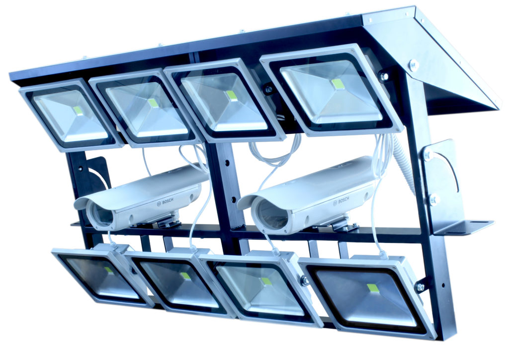 Вимірювальна стійка для технічного зору (8 прожекторів)